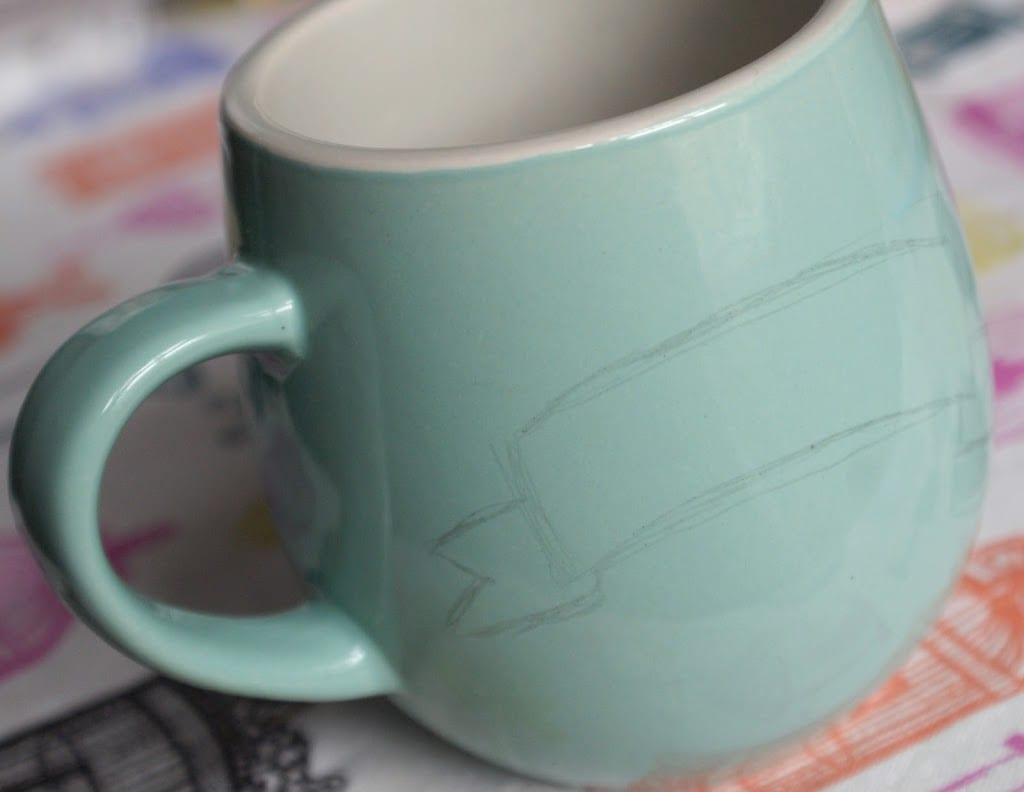 Diy How To Decorate Ceramics With A Sharpie Miss V Viola