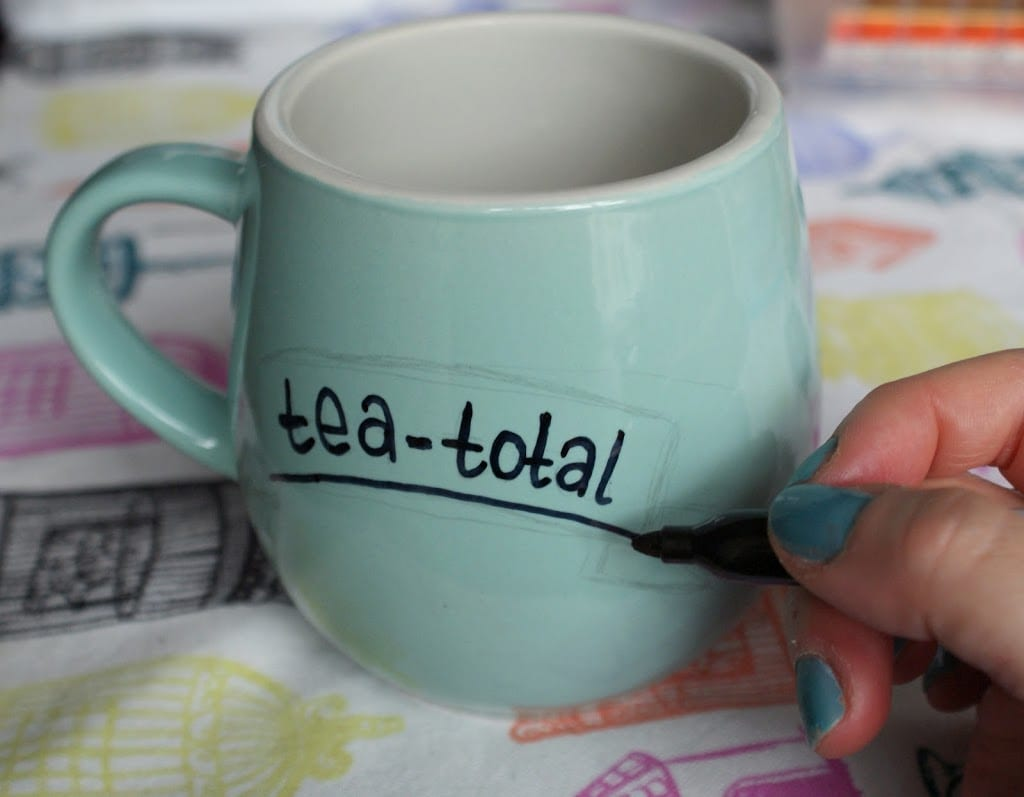 DIY How To Decorate Ceramics With A Sharpie! & DIY: How To Decorate Ceramics With A Sharpie! | Miss V Viola