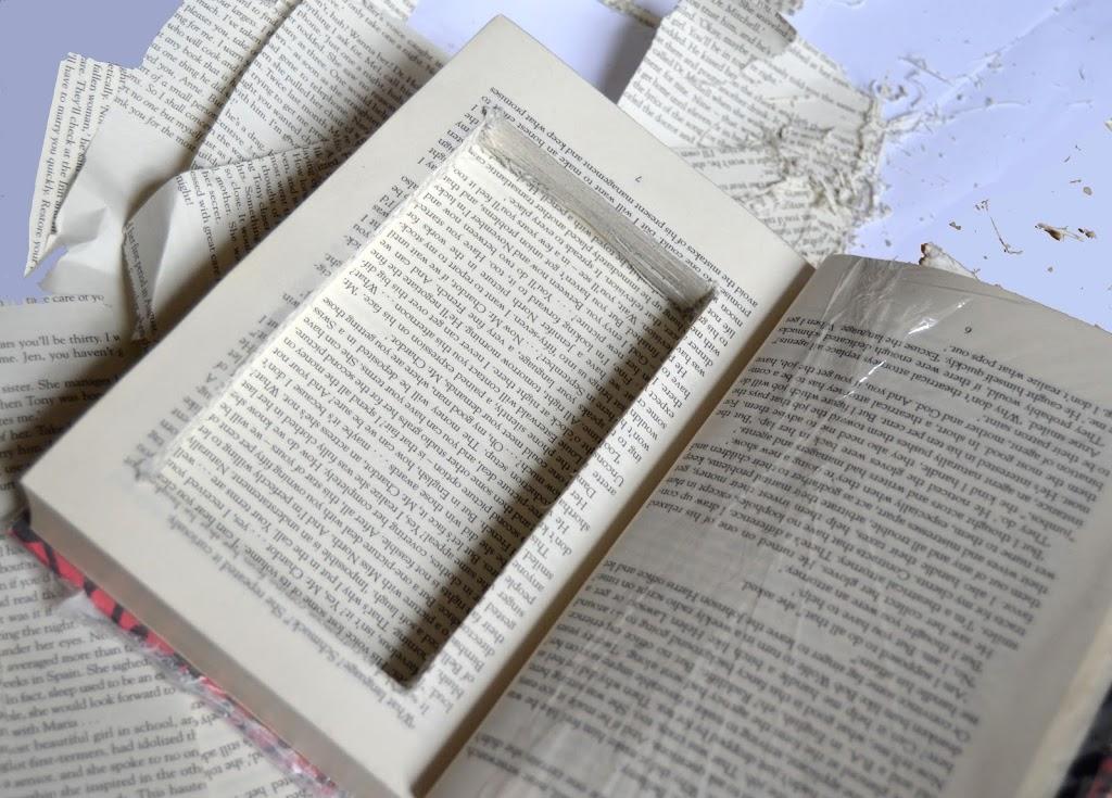 How To Make A Secret Hollow Book Craft