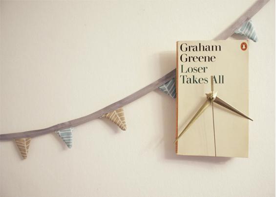 DIY How To Make A Book Clock