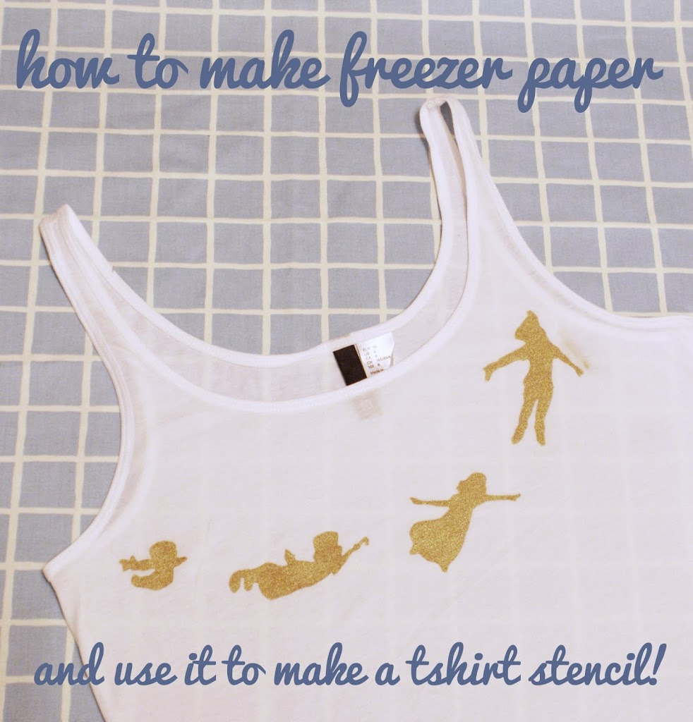 How To Make Freezer Paper To Create Fabric Stencils | Miss V