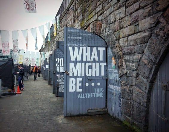 Door Art Installation : Hidden door exhibition edinburgh miss v viola