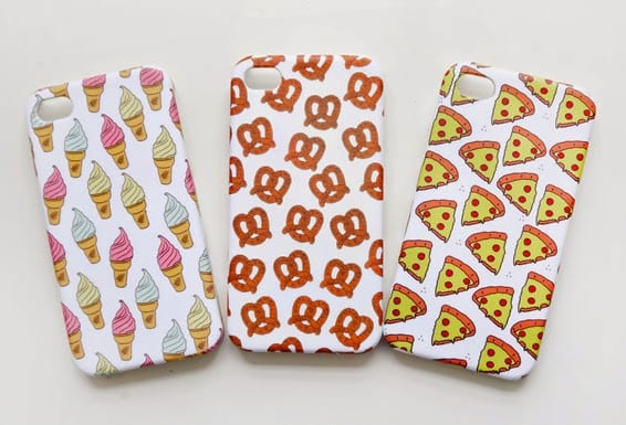 New Products: Junk Food Phone Cases u0026 A New Product Trial... : Miss V ...