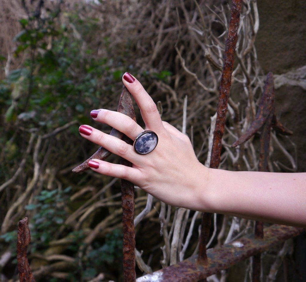 full moon ring halloween fashion blog post