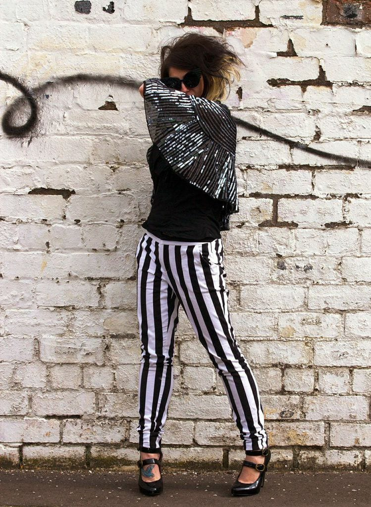 glam rock beetlejuice costume inspiration