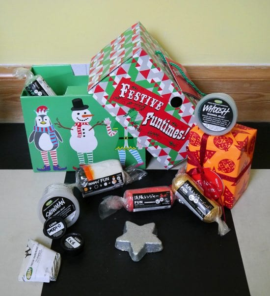 lush review festive funtimes christmas gift ideas inspiration