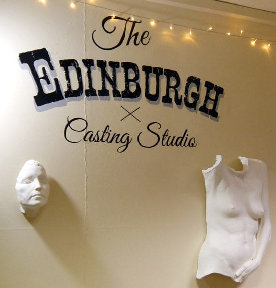 the edinburgh casting studio body sculpture footprints bespoke personalised gifts handmade in scotland british designers alternative art baby gift ideas christmas birthday