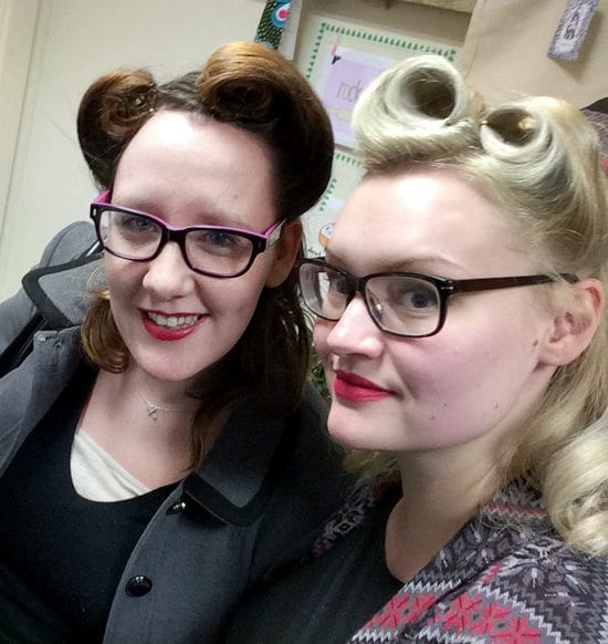 victory rolls edinburgh hair salon wedding hair party hen do events