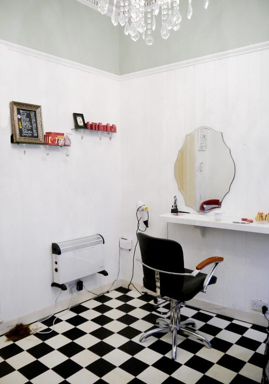 vintage salon edinburgh 50s haircut  affordable