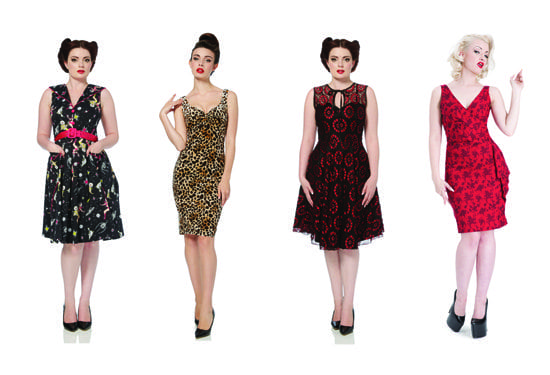 Voodoo Vixen Retro Dresses UK Vintage Style