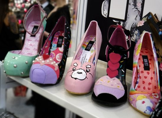 london edge iron fist cute retro heels pin up girls carebears