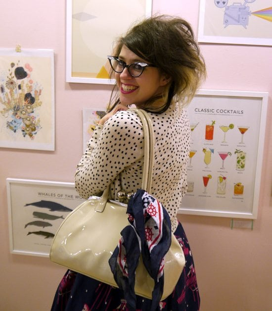 quirky retro style uk vintage blogger what I wore