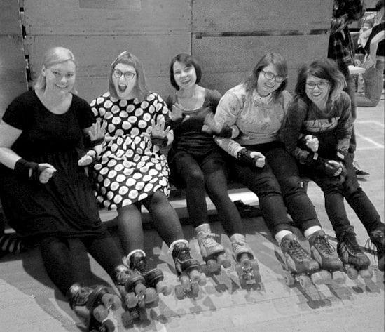 roller disco edinburgh roller derby girls