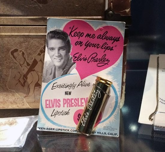 vintage elvis lipstick 1950s collectable retro fashion make up