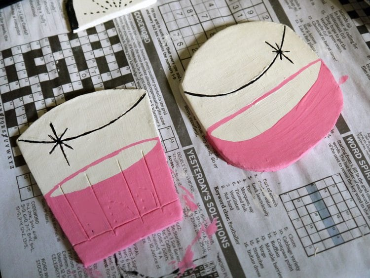 diy air dry clay tutorial project inspiration