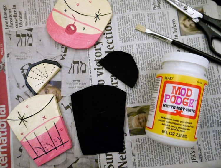 felt and clay diy projects for kids