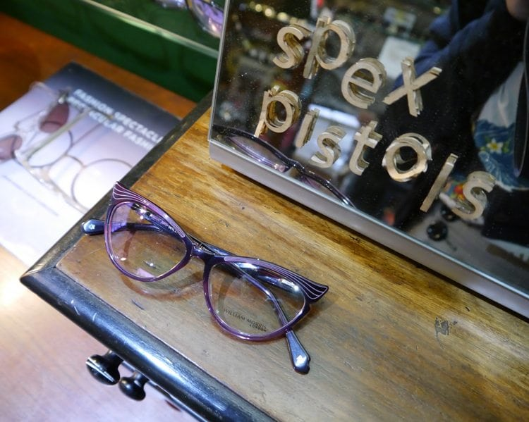 retro glasses uk spex pistols