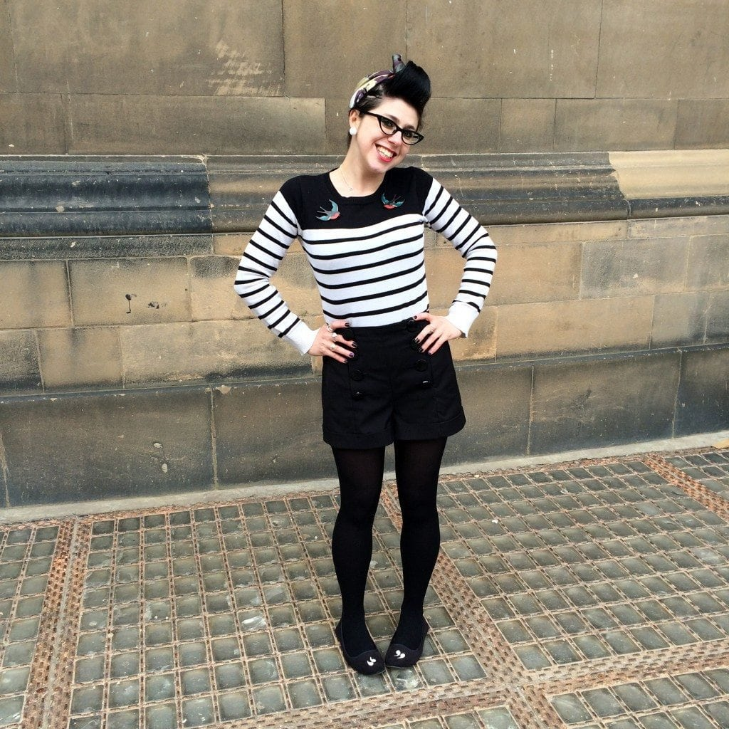 tattoo pin up girl edinburgh retro style blogger uk