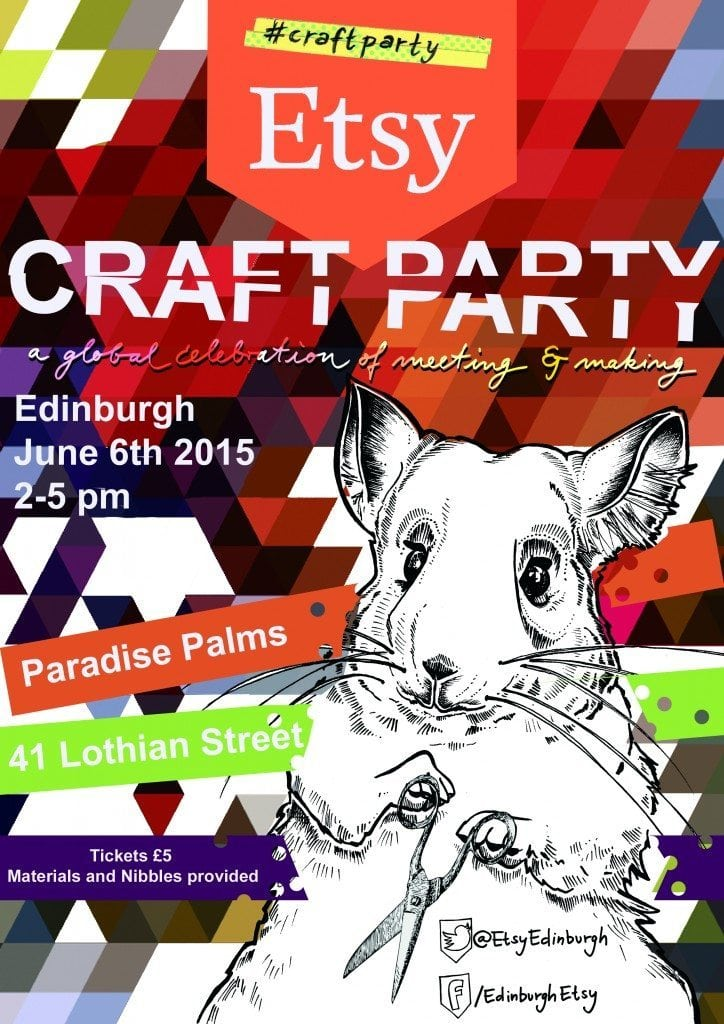 Edinburgh Etsy Craft Party