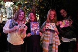 craft party at paradise palms edinburgh etsy team