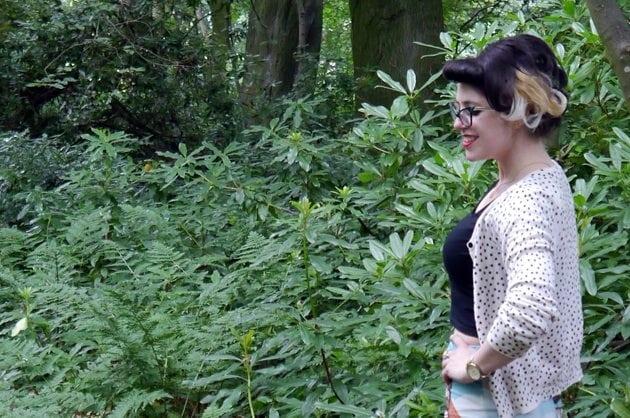 beautiful pin up hairstyles pin up girl edinburgh salon vintage fashion blogger uk