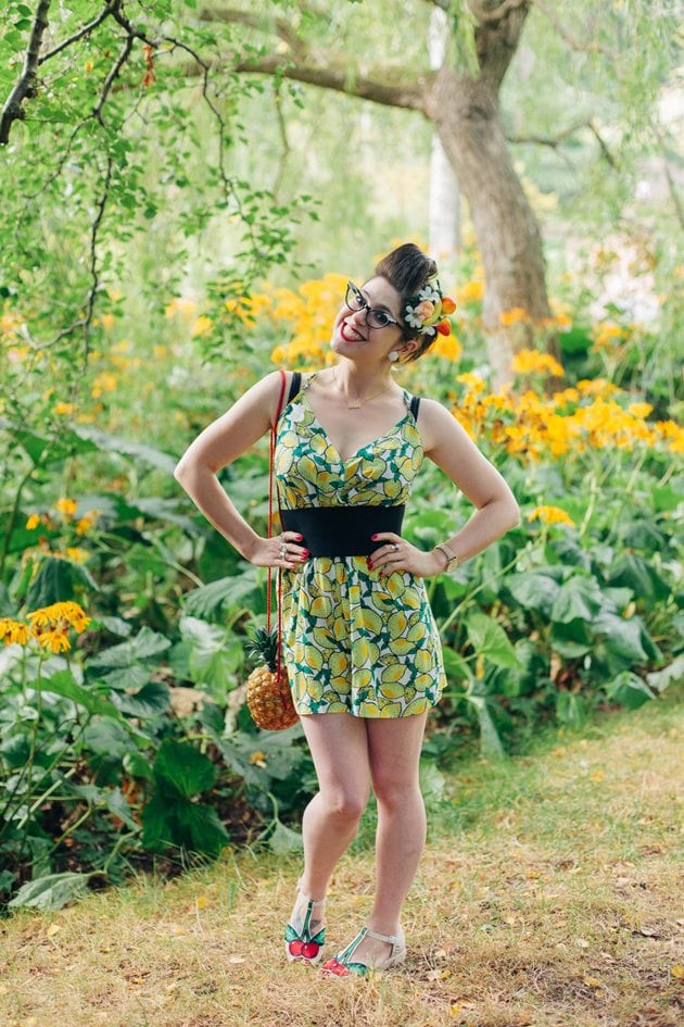carmen miranda inspired outfit