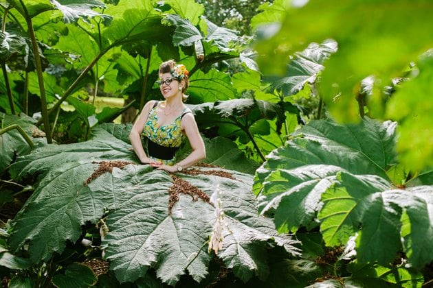 jungle fashion shoot tropical style carmen miranda inspiration vintage look retro inspired