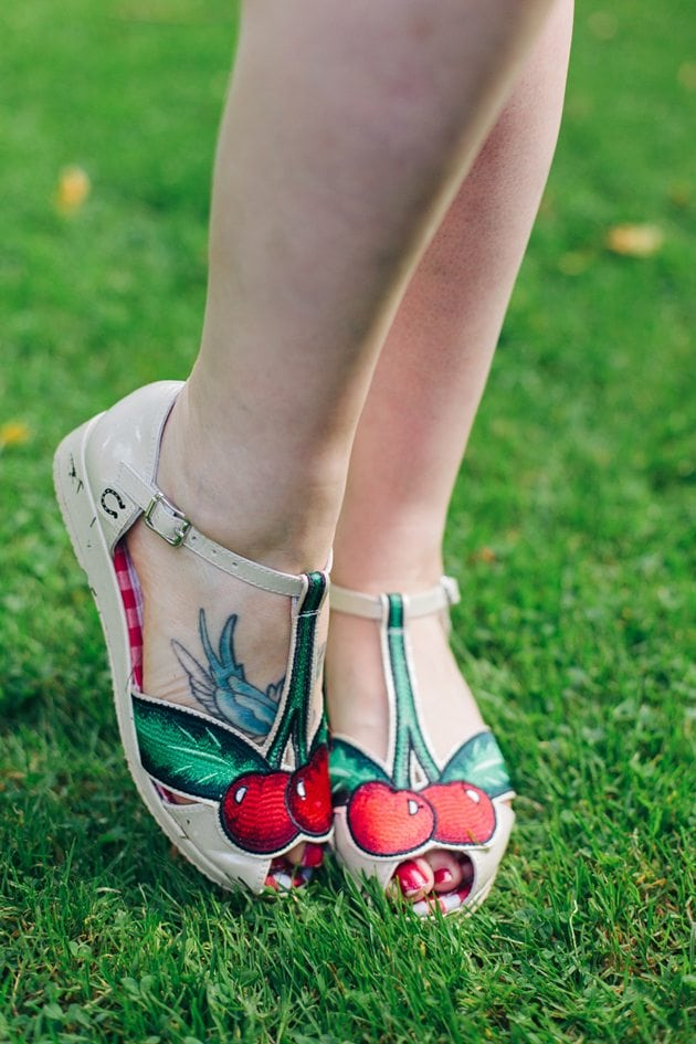 miss l fire cherry shoes vintage style blog