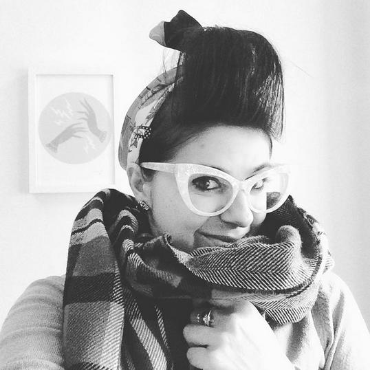 brora blogger enchanted forrest edinburgh cashmere scarf scotland handmade wool