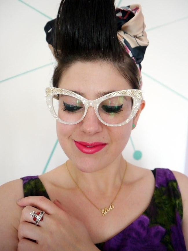 buy cat eye glasses online uk vintage style retro look fashion blogger review bonlook