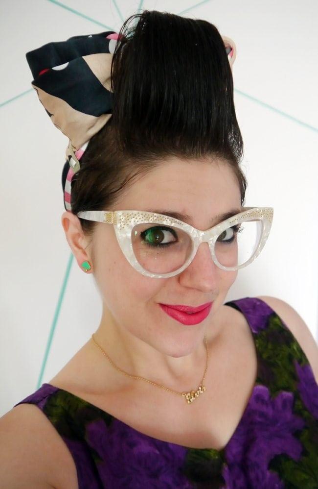 buying glasses online review uk blog scottish blogger bonlook keiko glasses