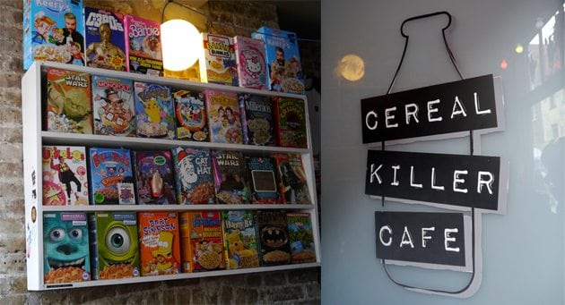 cereal killer cafe vintage blogger photos london uk places to see things to do