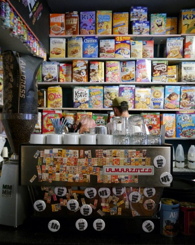 quirky cereal  cafe london indie small business independent cafe bar brick lane