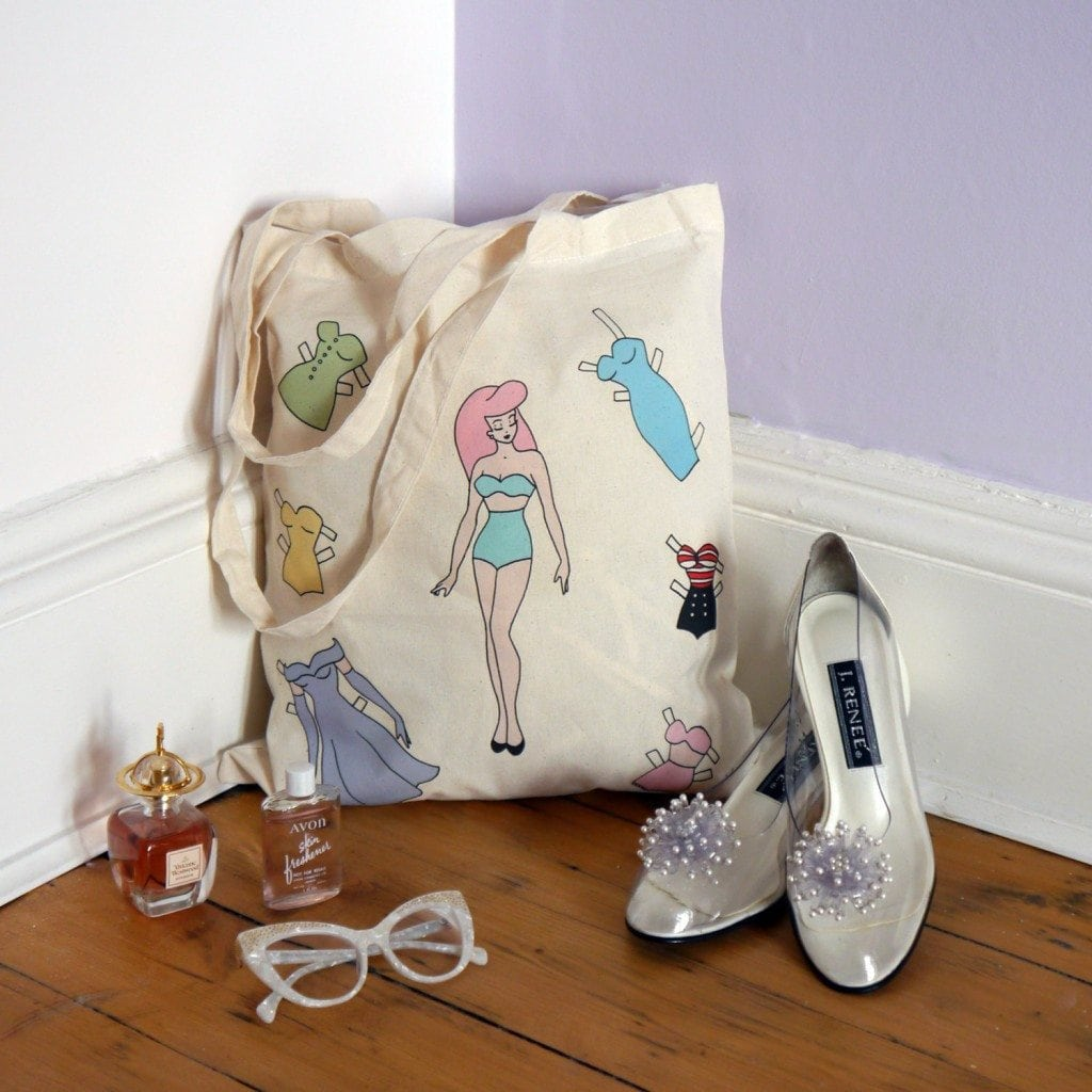 pin up girl bag