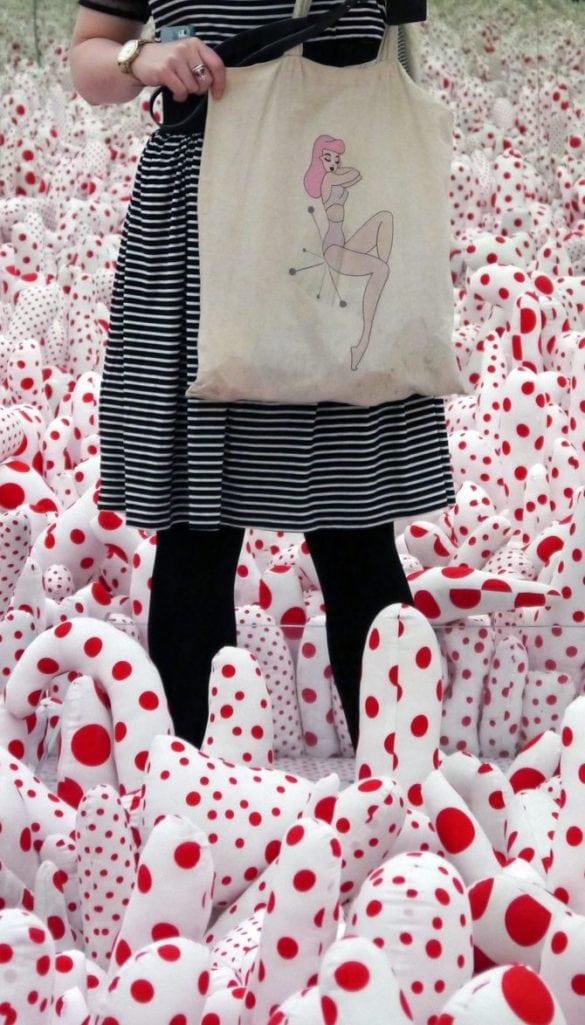 pin up girl bag retro fashion blog post