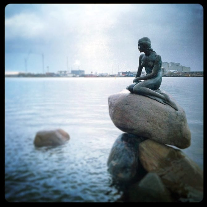 the little mermaid copenhagen blogger blog post travel review