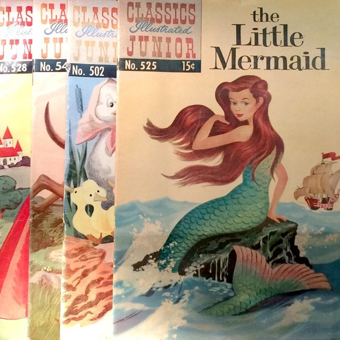 vintage little mermaid hans christian andersen collectable