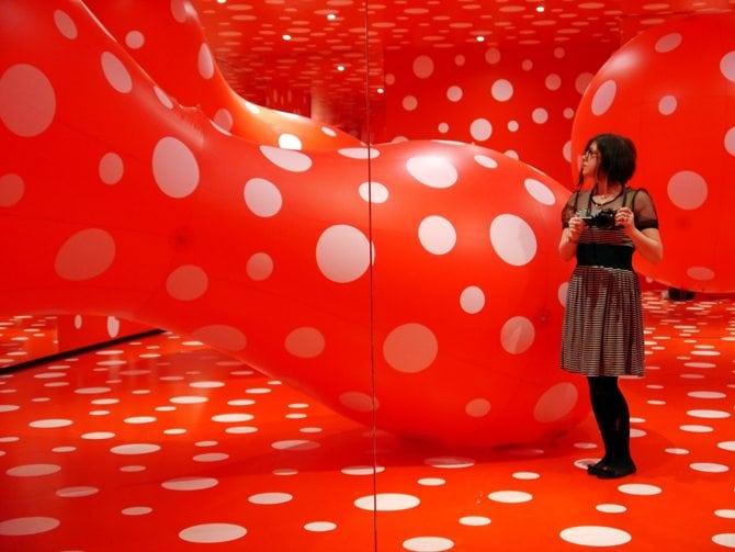wierd and wonderful exhibitions installation art denmark japan tokyo