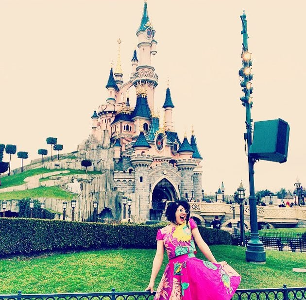 springtime in disneyland blogger review paris theme park fashion post