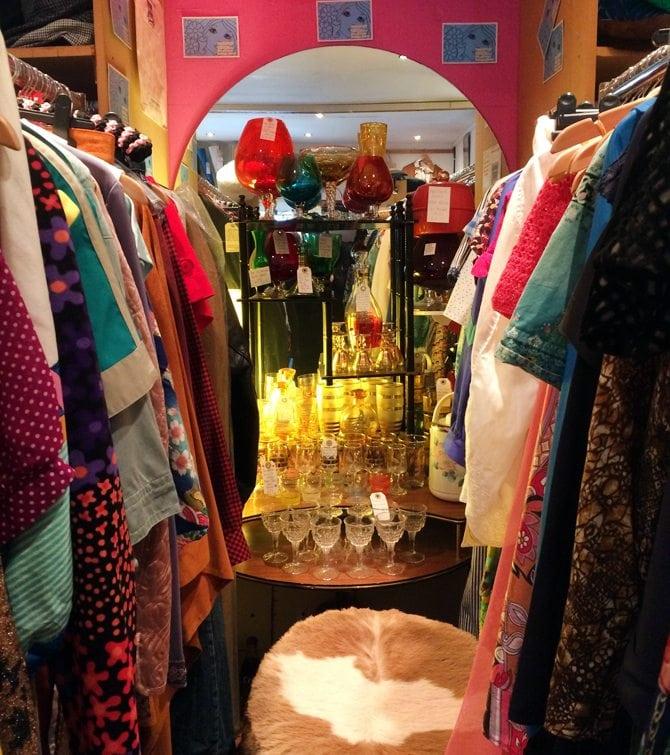 The Closet vintage shopping aberdeen