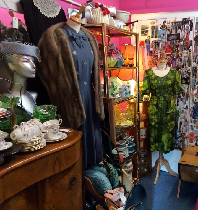 best vintage shop aberdeen the closet
