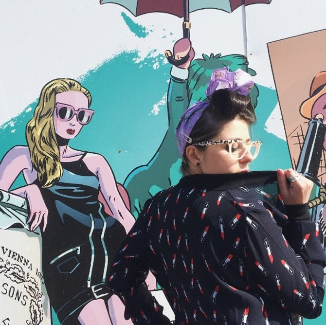 rockabilly outfit post vintage theme ootd